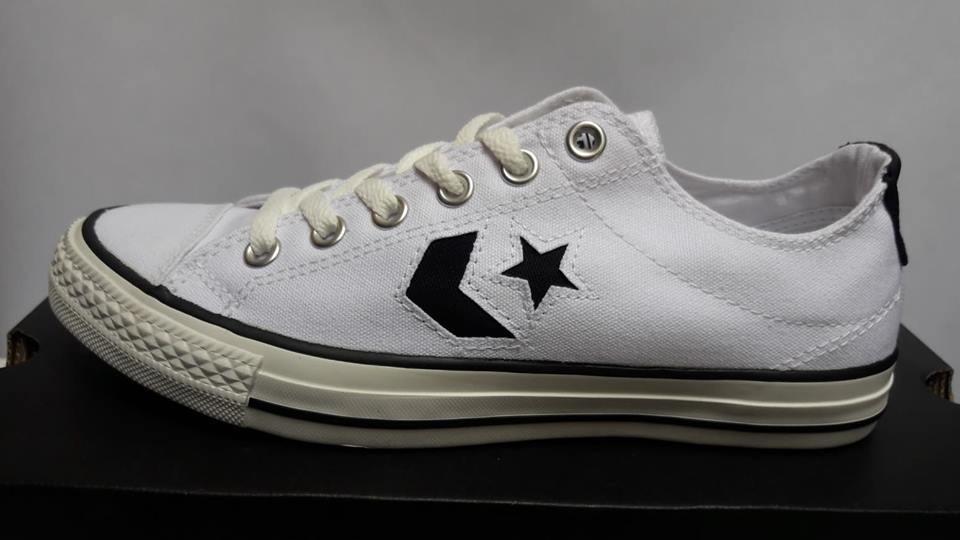 converse star player blanco