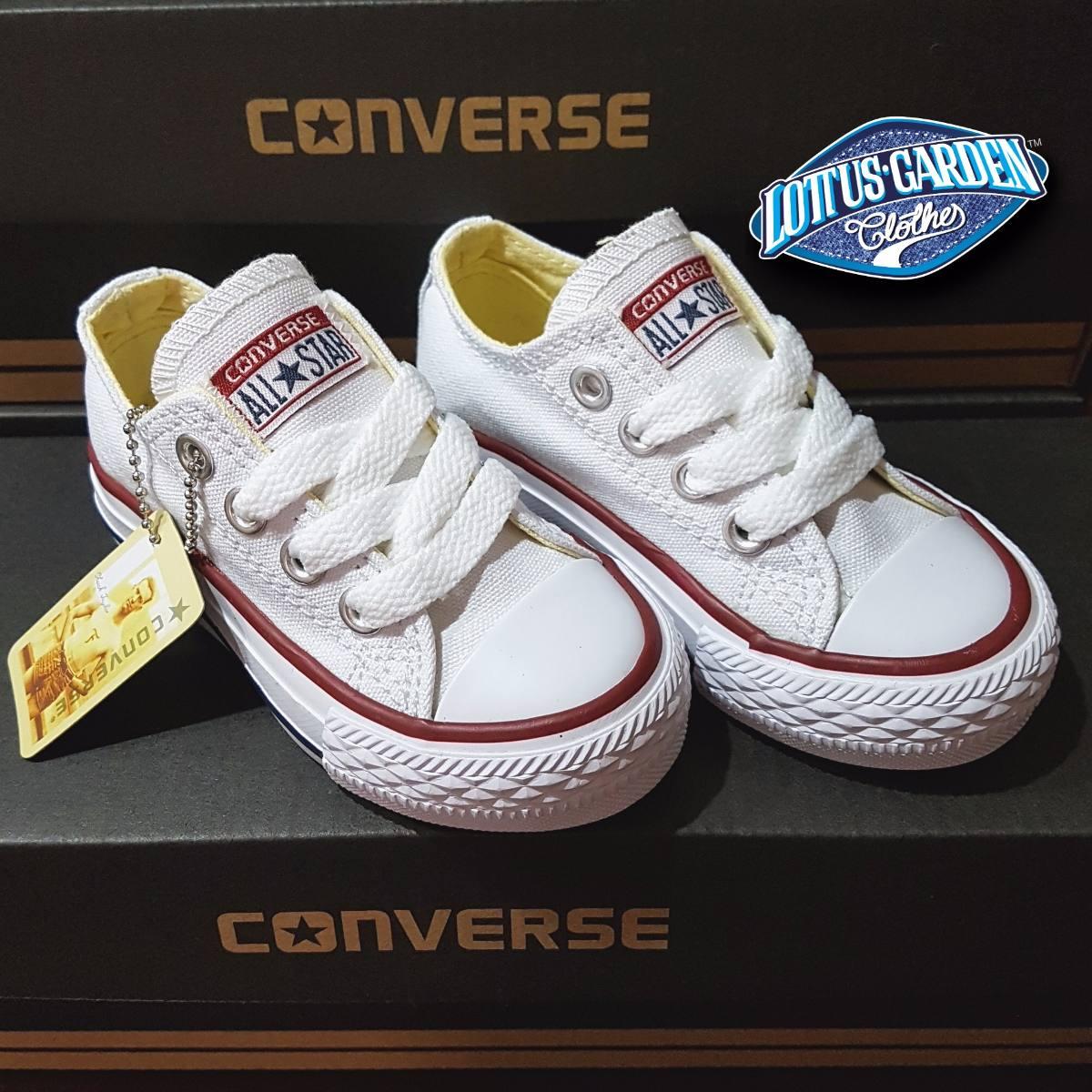 all star converse blancas niño