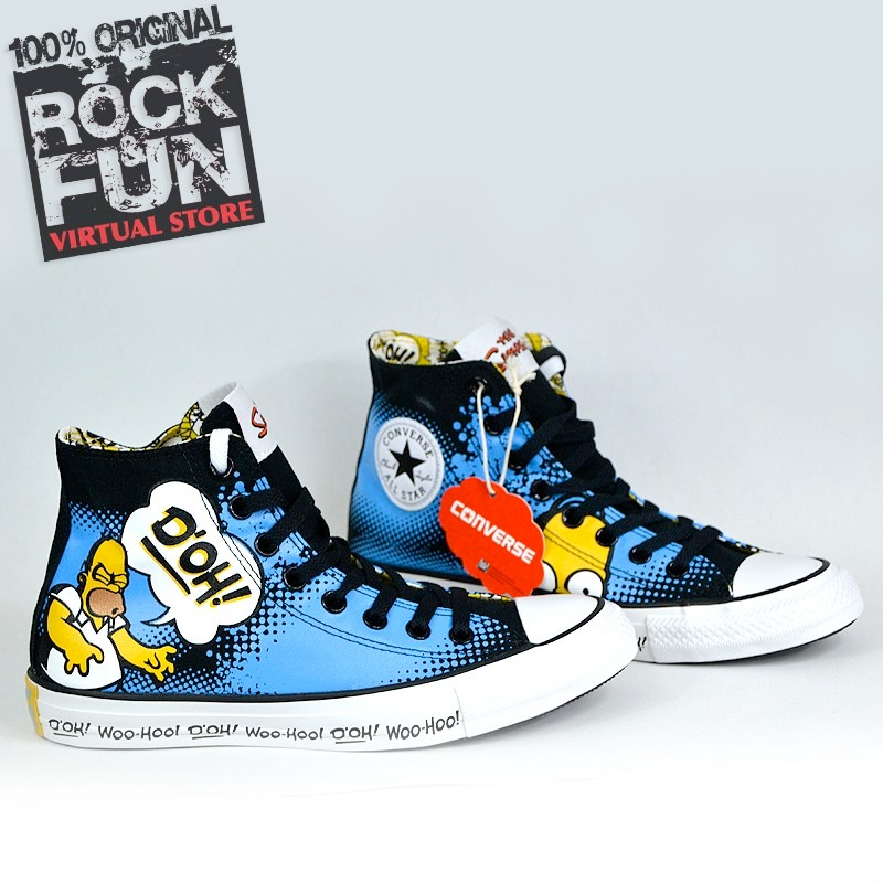 converse simpsons chile