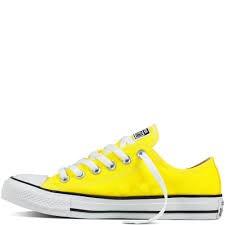 2zapatillas converse unisex amarillas