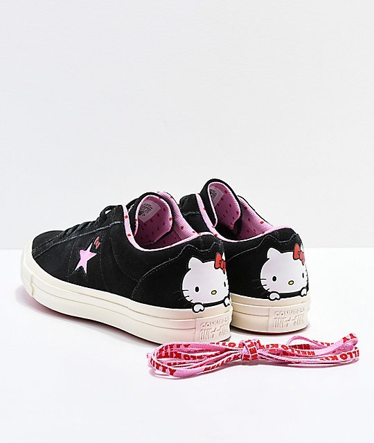 Converse X Hello Kitty One Star -   1 1211a85d3