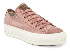 converse mujer ocre