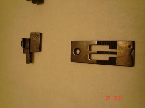 conversion de 1/4 a 3/8 pulgadas. para maquina de dos agujas