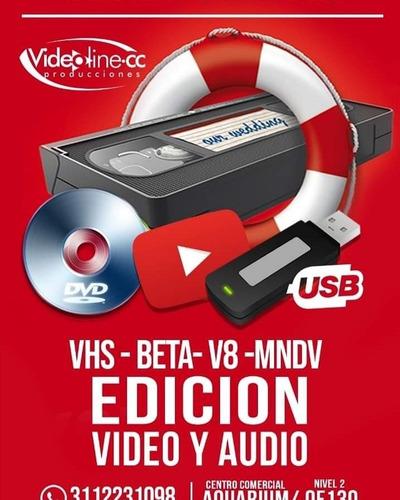 conversión de cintas a dvd