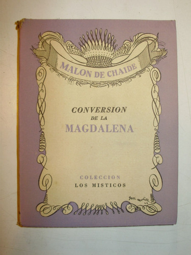 conversion de la magdalena malon de chaide schapire arg 1945