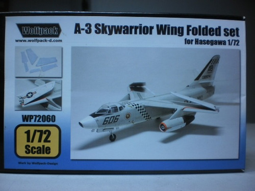 conversion de resina para a-3 sky warrior wing folded