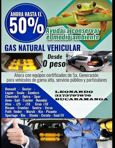 conversion gas natural vehicular gnv 5generacion y convecion