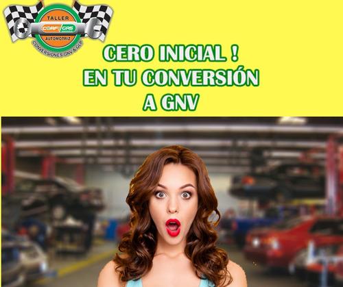conversiones a gas gnv  ***credito*** cero inicial 24 meses