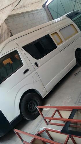 conversiones de camionetas panel a trasporte público, luna,r