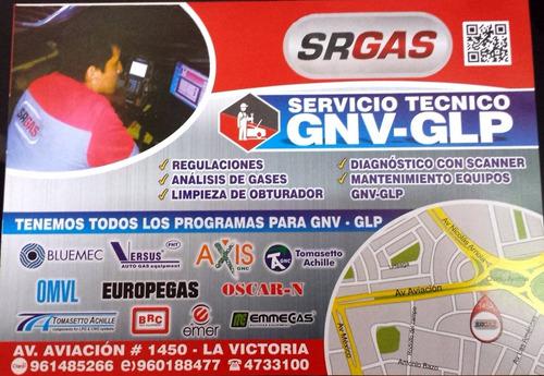conversiones glp gnv  servicio tecnico multimarca