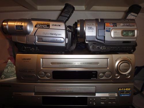 conversiones transfer vhs betamax video8 hi8 digital8 minidv