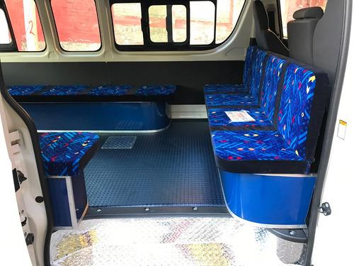 conversiones transporte publico de nissan  nv toyota hiace