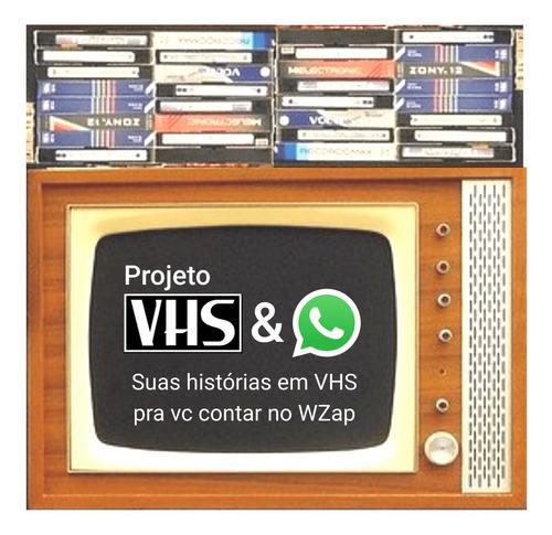 conversão de vhs / vhs-c para whatsapp e mídias sociais