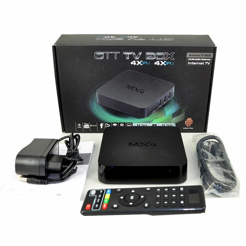 conversor a smart tv box mxq pro 4gb convertidor hdmi