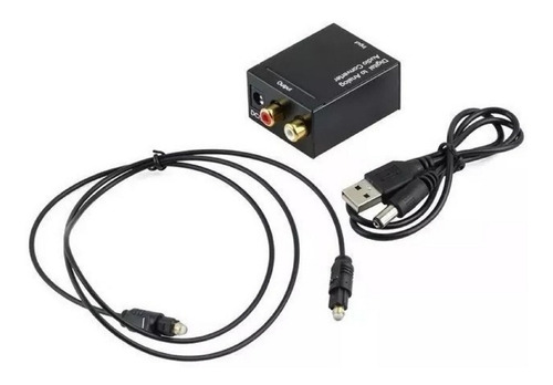 conversor audio digital optico a analógico smart cable home