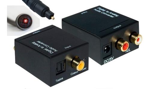 conversor audio digital / óptico a análogo gamephone