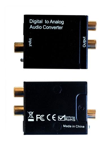 conversor audio digital rca analogico