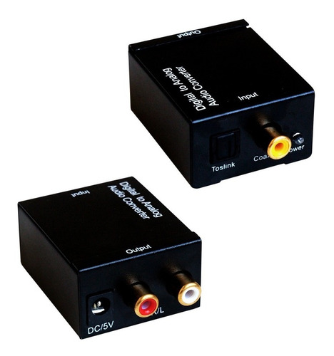 conversor audio digital rca analogico coaxial