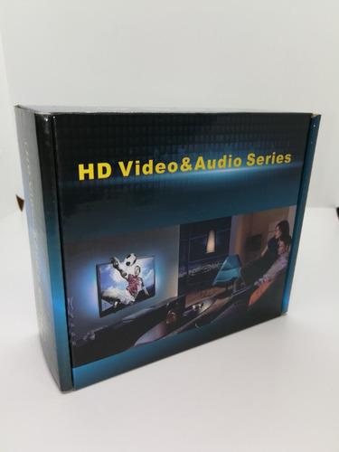 conversor audio fibra optica digital a 2 rca p/ tv smart mas