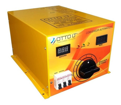 conversor automático com carregador motor home otto lt 8kva
