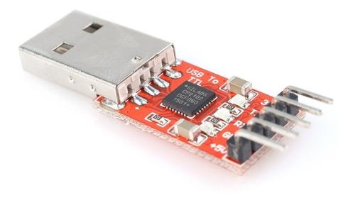 conversor cp2102 usb 2.0 a ttl uart módulo 5 pin cp 2102