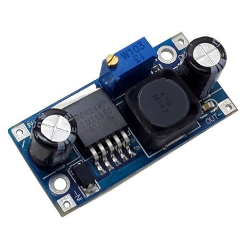 conversor dc dc  lm2596   1.3 35v regulador voltagem arduino