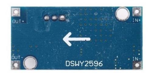 conversor dc dc step down lm2596 regulador tensão ajustável