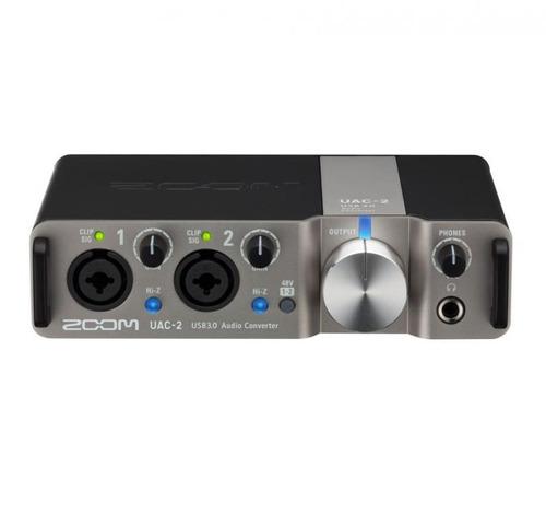 conversor de áudio zoom uac-2 usb 3.0