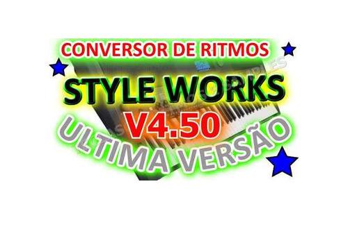 conversor de ritimos styleworkxt + manual português