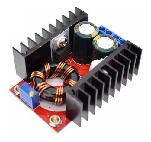 conversor de tensão dc-dc 150w 12v para 24v 6a