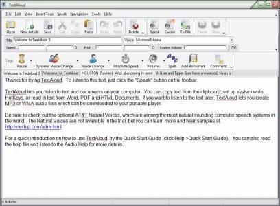 conversor de texto em áudio leitor de email leitor de ebook