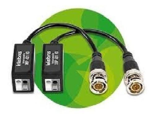 conversor de video  balun  xbp-401 intelbras
