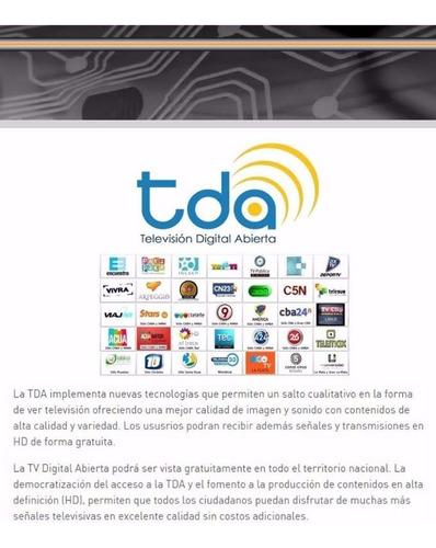 conversor decodificador sintonnizador tda tv usb graba hd