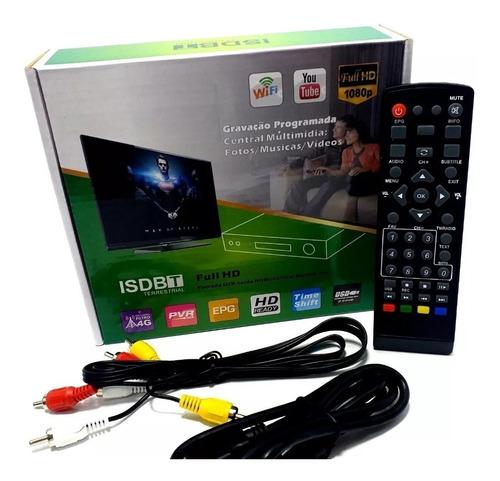 conversor digital e gravador com usb youtube wifi