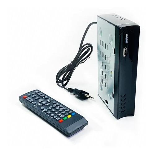 conversor digital p/ televisão tubo lcd canais abertos hd