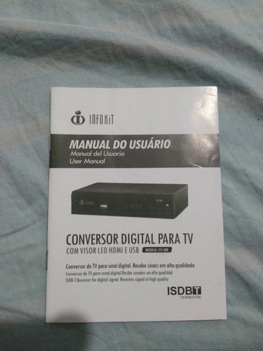conversor digital para tv com visor led hdmi e usb filtro 4g