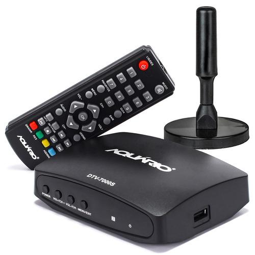 conversor e gravador digital aquário usb tv full hdtv antena