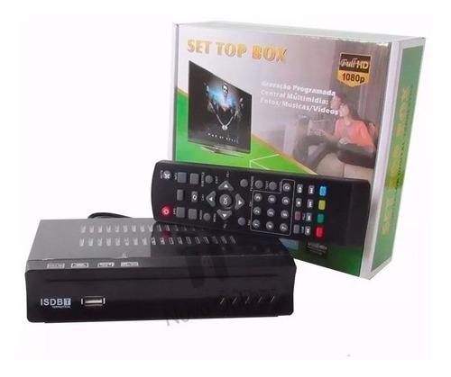 conversor e gravador digital de tv full hd isdbt terrestre