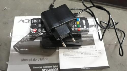 conversor  e gravador  digital modelo dtv-4000s