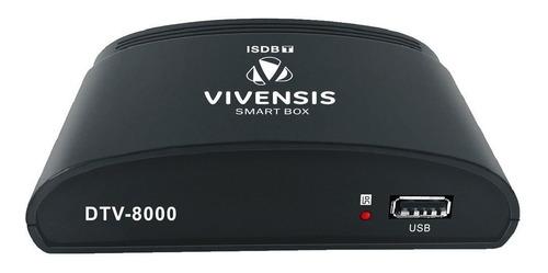 conversor e gravador digital vivensis dtv 8000 + cabo hdmi