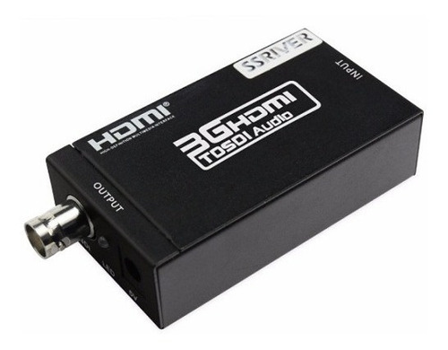 conversor hdmi a sdi hd monitor 1080p