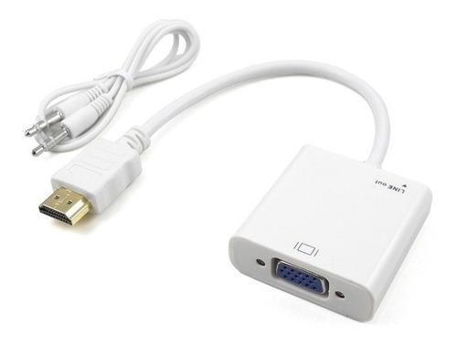 conversor hdmi a vga + 3.5 audio netmak nm-c81a