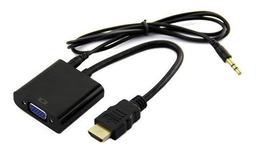 conversor hdmi a vga activo usb ps4 1080p con audio