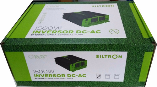 conversor inversor senoidal 1500w 12v a 220v con usb siltron