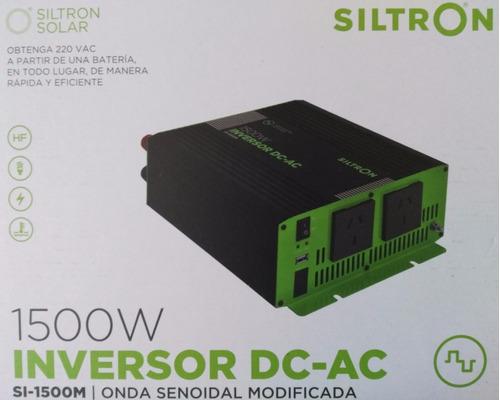 conversor inversor siltron 12 a 220 1500w con usb