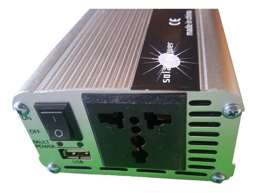 conversor inversor solar 1000w voltaje 12v 220 transformador