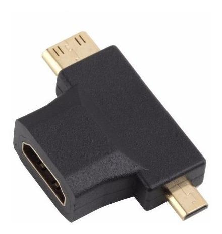 conversor mini y micro hdmi a vga video audio celular tablet