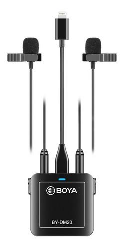 conversor mixer audio analogo / digital estereo boya by-dm20