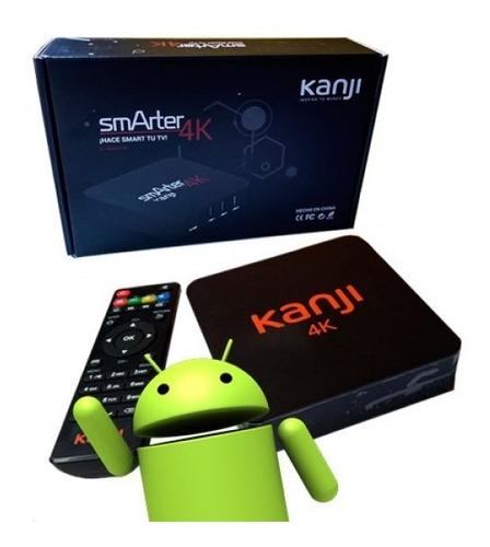 conversor quad core tv box smart 4k 8gb android 5 hdmi !!