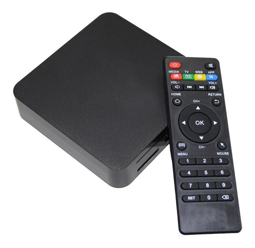 conversor quad core tv box smart 4k 8gb android hdmi oferta